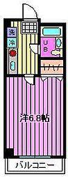 プライムシティ南浦和[1階]の間取り