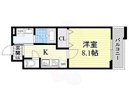 Maison AIKAWA 1階1Kの間取り