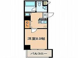 サイプレス小阪駅前[2階]の間取り