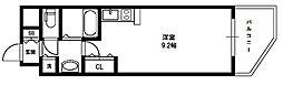 ロイヤルレジデンス新大阪[4階]の間取り