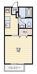 佐々木ハイツ[1階]の間取り