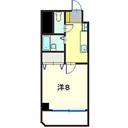ガーデンハウスSK[203号室]の間取り