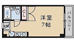 モンシャトル[4階]の間取り