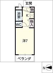 青山マンション[2階]の間取り