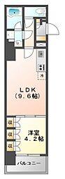 アーバネックス江坂広芝[7階]の間取り