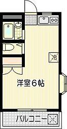ミスティ[301号室]の間取り