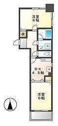 アーバンヴィラ[3階]の間取り