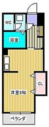 ラフィーヌ・池田5番館[1階]の間取り