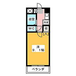 クインシティHISHINO[7階]の間取り
