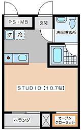 Y−PLUM[1階]の間取り