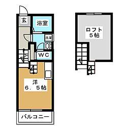 ツインソフィア A棟[2階]の間取り