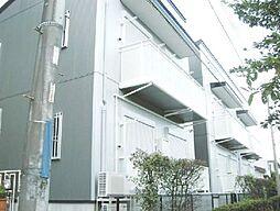 埼玉県川口市鳩ヶ谷本町1丁目の賃貸アパートの外観
