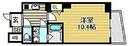 仮称)ヴィレッタ馬場町[4階]の間取り