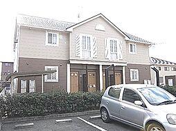 兵庫県姫路市飾磨区今在家北2丁目の賃貸アパートの外観