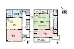 一戸建て(狭山ヶ丘駅から徒歩15分、88.40m²、2,300万円)