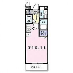 フィールドロード2[305号室号室]の間取り