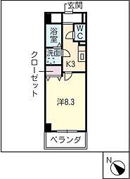 マ・メゾンコンフォール2[4階]の間取り