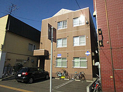北海道札幌市東区北十九条東8丁目の賃貸マンションの外観