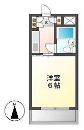 メゾン・ド・サージュ[3階]の間取り