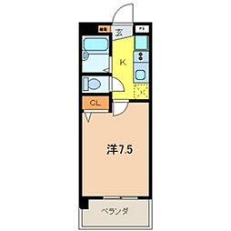 JC STATION 143[505号室]の間取り