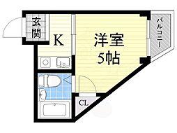千林大宮駅 1.5万円