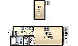 高見ノ里駅 4.3万円