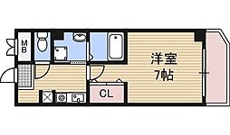 IF西梅田[1階]の間取り