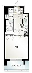 エンクレスト六本松II[6階]の間取り