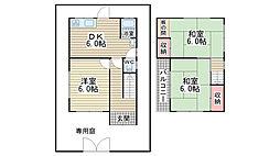 [一戸建] 兵庫県神戸市垂水区千代が丘2丁目 の賃貸【/】の間取り