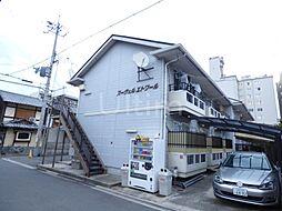 京都府京都市上京区北猪熊町の賃貸アパートの外観