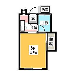 北野駅 2.5万円