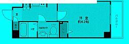 東京都豊島区池袋の賃貸マンションの間取り