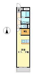 アーク京田町[3階]の間取り