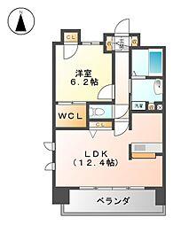 メゾン・グランドゥール[3階]の間取り