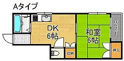 カルムノーサイド[3階]の間取り