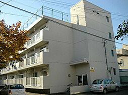 北海道札幌市東区北十六条東7丁目の賃貸マンションの外観