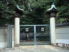 文化財伊藤博文墓所まで564m