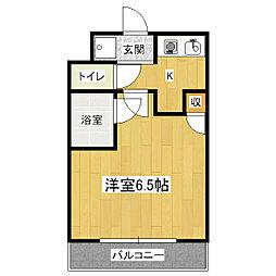 カーサ桃山[1階]の間取り