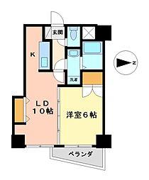 第3タジックビル[6階]の間取り