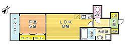 サンクレシア原町別院[4階]の間取り