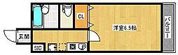 ハイツ東雲ビーハイブ[3階]の間取り