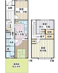 千葉県浦安市入船3丁目の賃貸マンションの間取り
