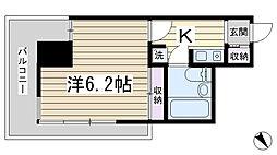 ST倶楽部[6階]の間取り