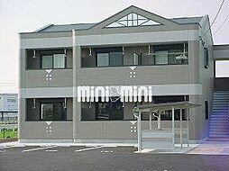 三重県四日市市大字六呂見の賃貸マンションの外観
