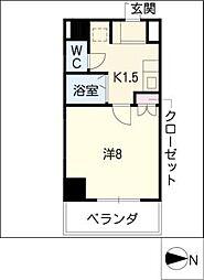 casa桜・千種[5階]の間取り