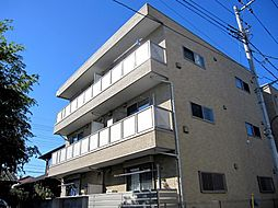 東京都立川市高松町2丁目の賃貸アパートの外観