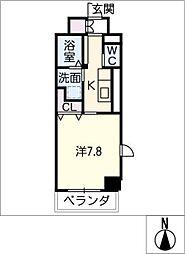 仮)中区正木3丁目自宅併用店舗[2階]の間取り