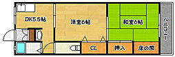 兵庫県神戸市北区鈴蘭台北町5丁目の賃貸マンションの間取り