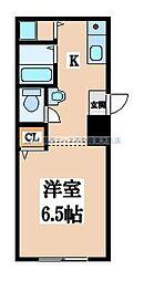 サカエマンション[1階]の間取り