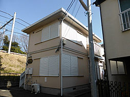 東京都東久留米市小山1丁目の賃貸アパートの外観